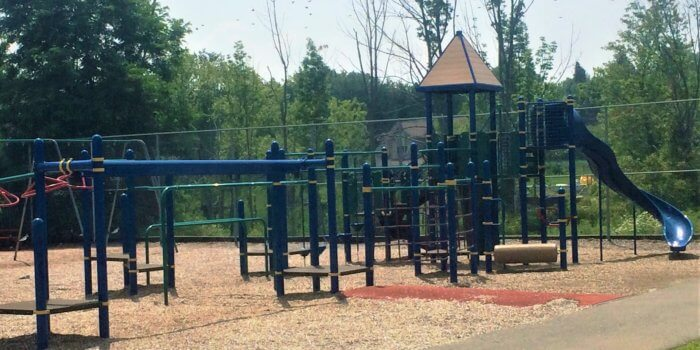 Photo of playground structure