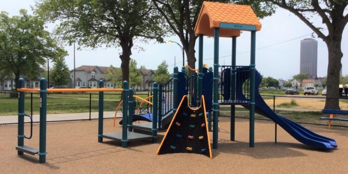Photo of a play structure