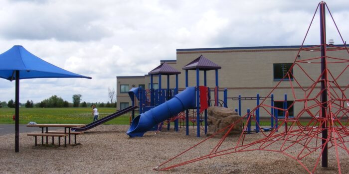 Photo of play equipment