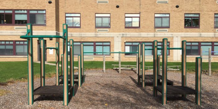Photo of play structure.