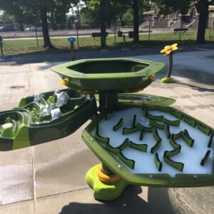Photo of water play table